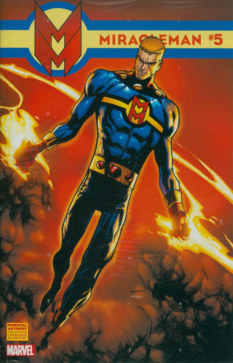 Miracleman (Marvel) #5 Cover D Incentive Humberto Ramos Variant Cover
