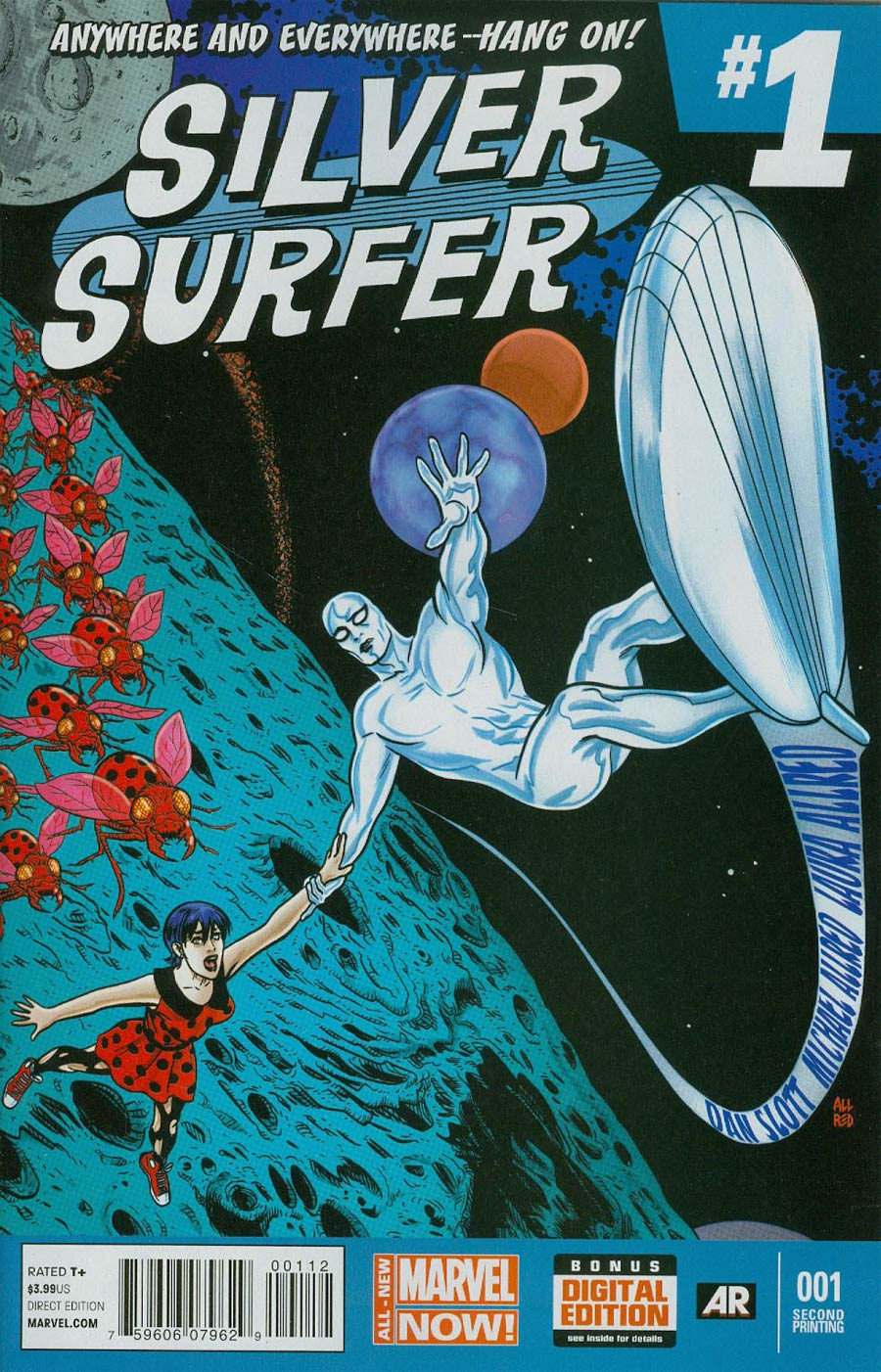 Silver Surfer Vol 6 #1 Cover F 2nd Ptg Michael Allred Variant Cover