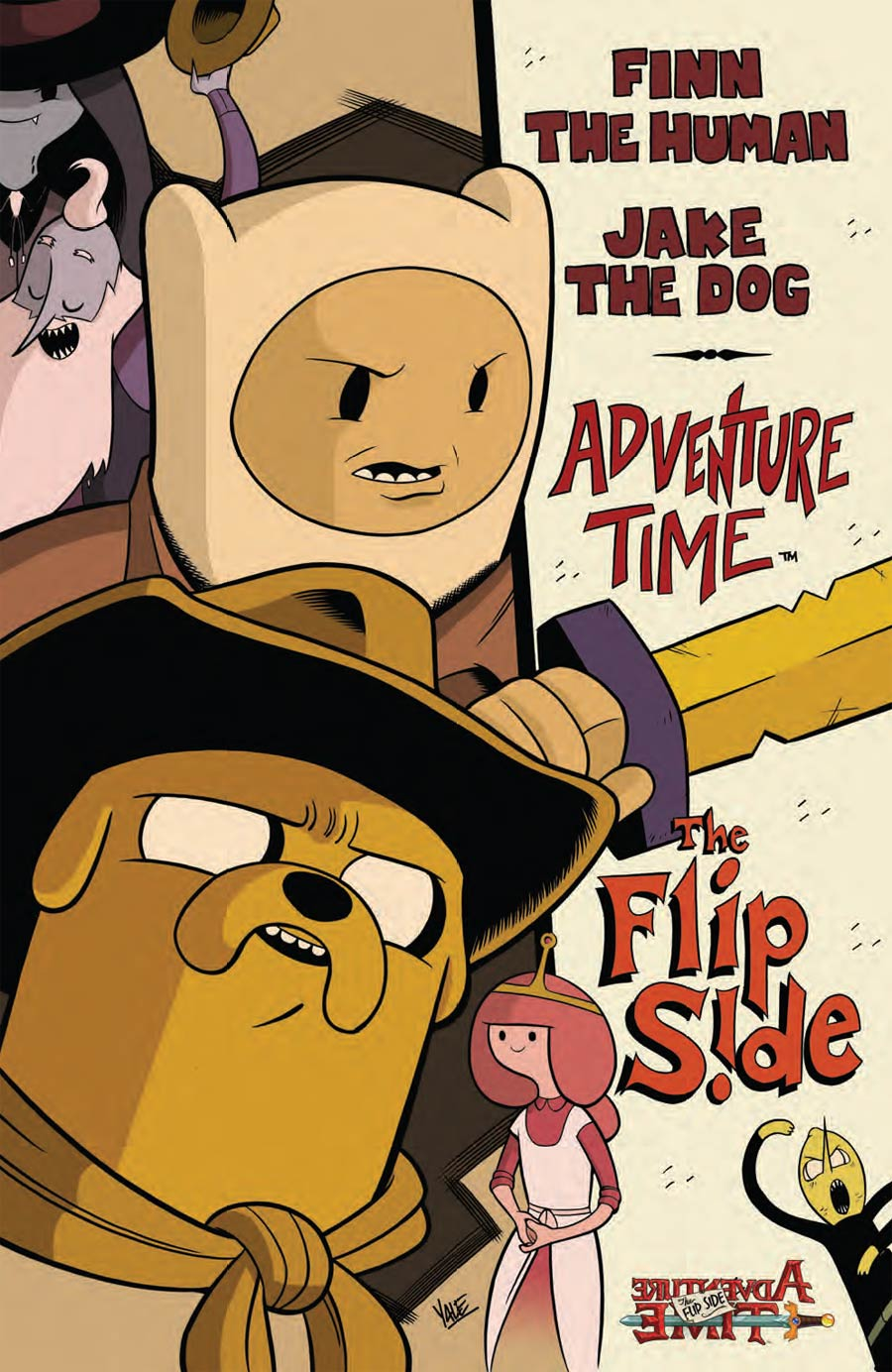 Adventure Time Flip Side #5 Cover C Incentive Yale Stewart Virgin Variant Cover