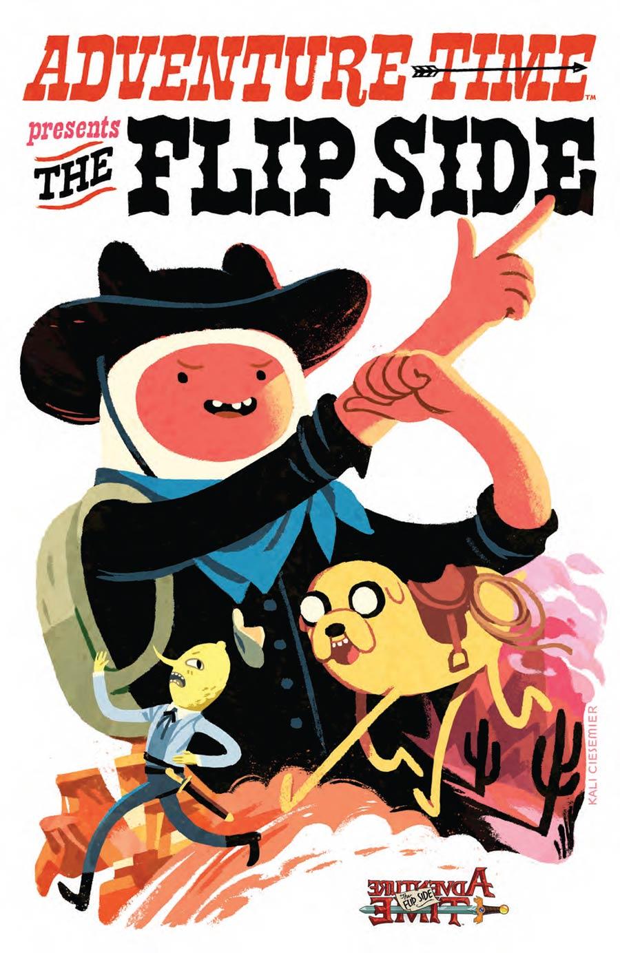Adventure Time Flip Side #5 Cover D Incentive Kali Ciesemier Virgin Variant Cover