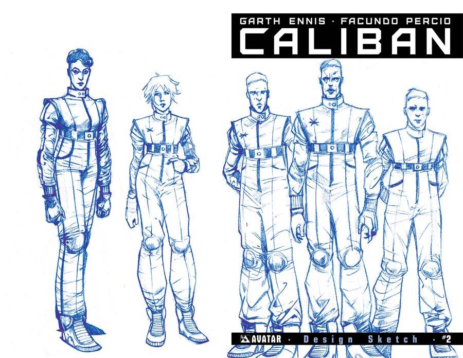 Caliban #2 Cover E Incentive Design Sketch Cover