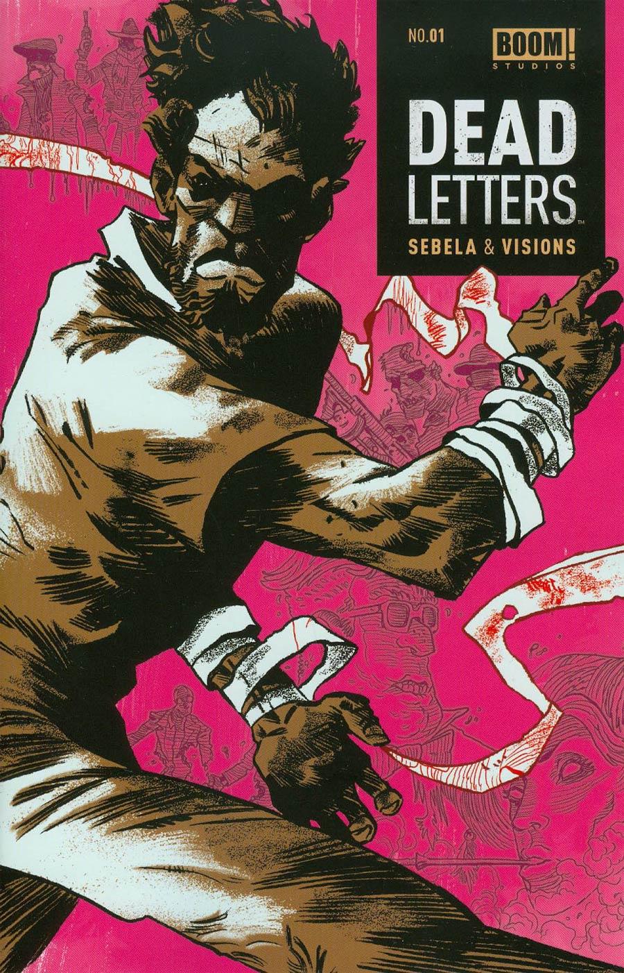 Dead Letters #1 Cover C 2nd Ptg Artyom Trakhanov Variant Cover