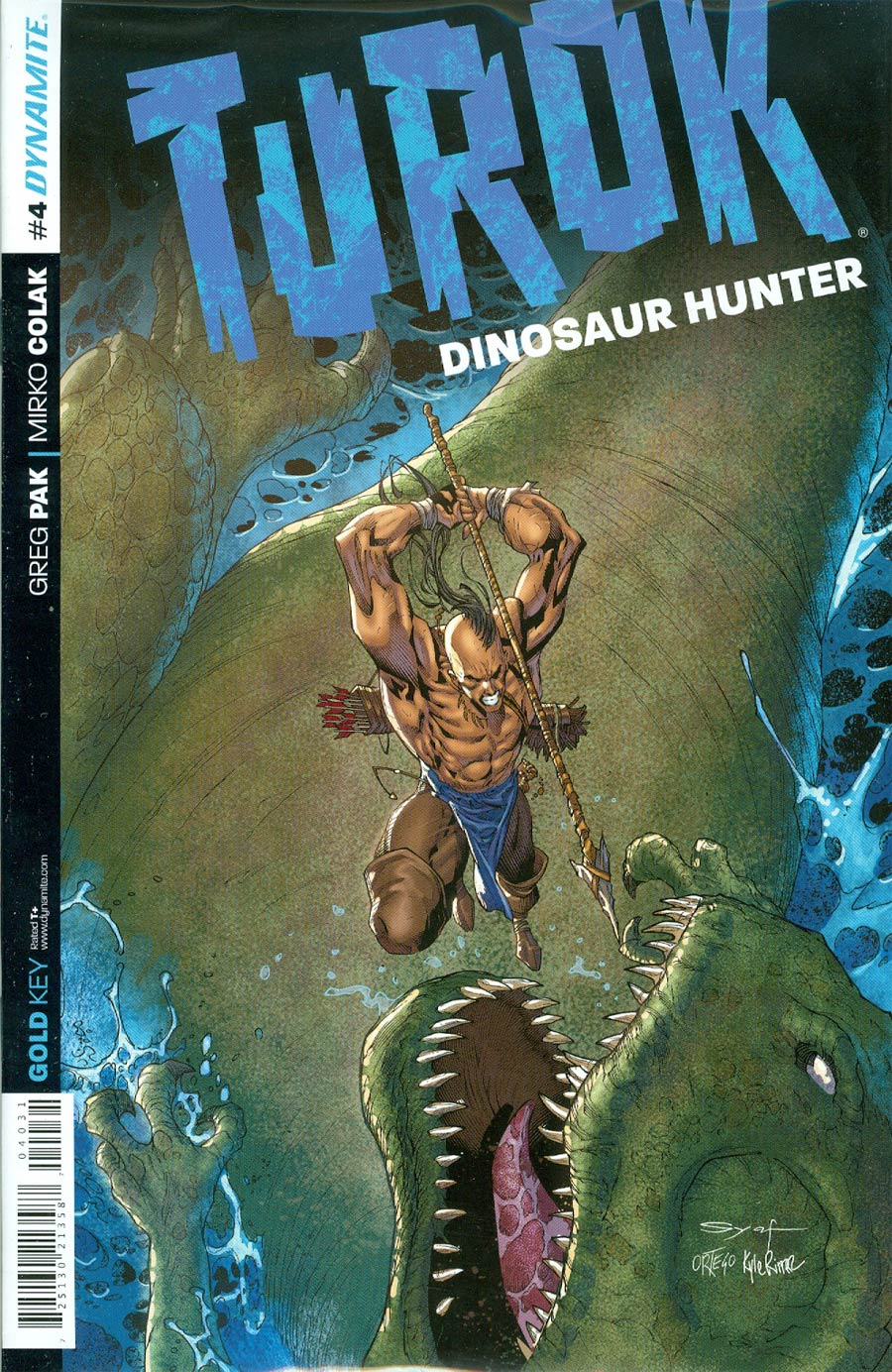 Turok Dinosaur Hunter Vol 2 #4 Cover D Incentive Ardian Syaf Variant Cover