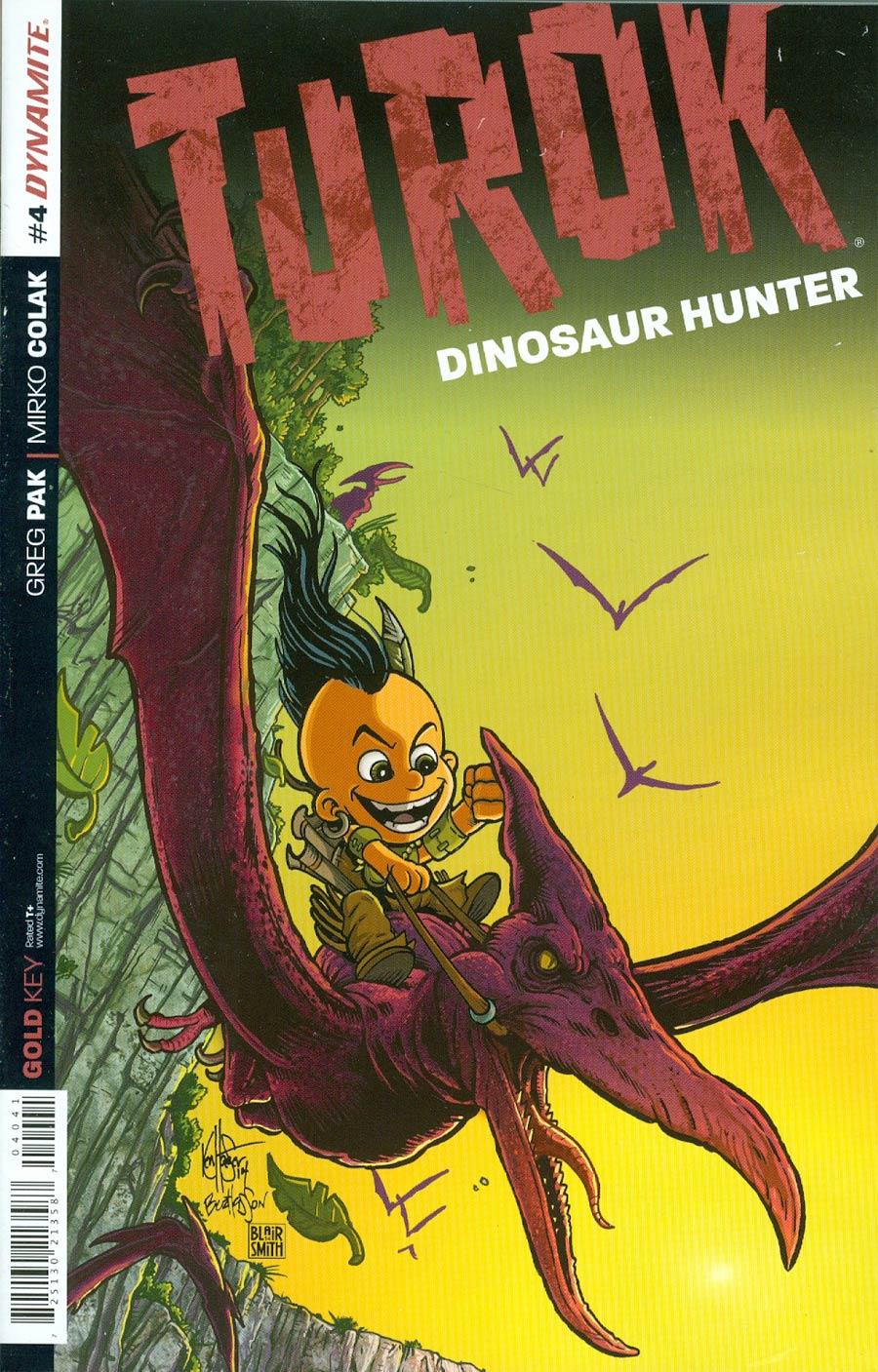 Turok Dinosaur Hunter Vol 2 #4 Cover E Incentive Ken Haeser Lil Turok Variant Cover