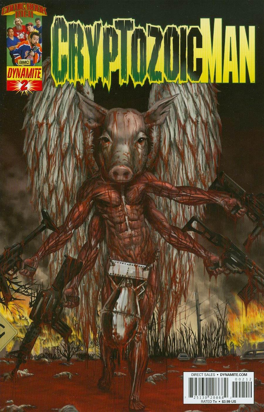 Cryptozoic Man #2 Cover C 2nd Ptg Walter Flanagan Variant Cover