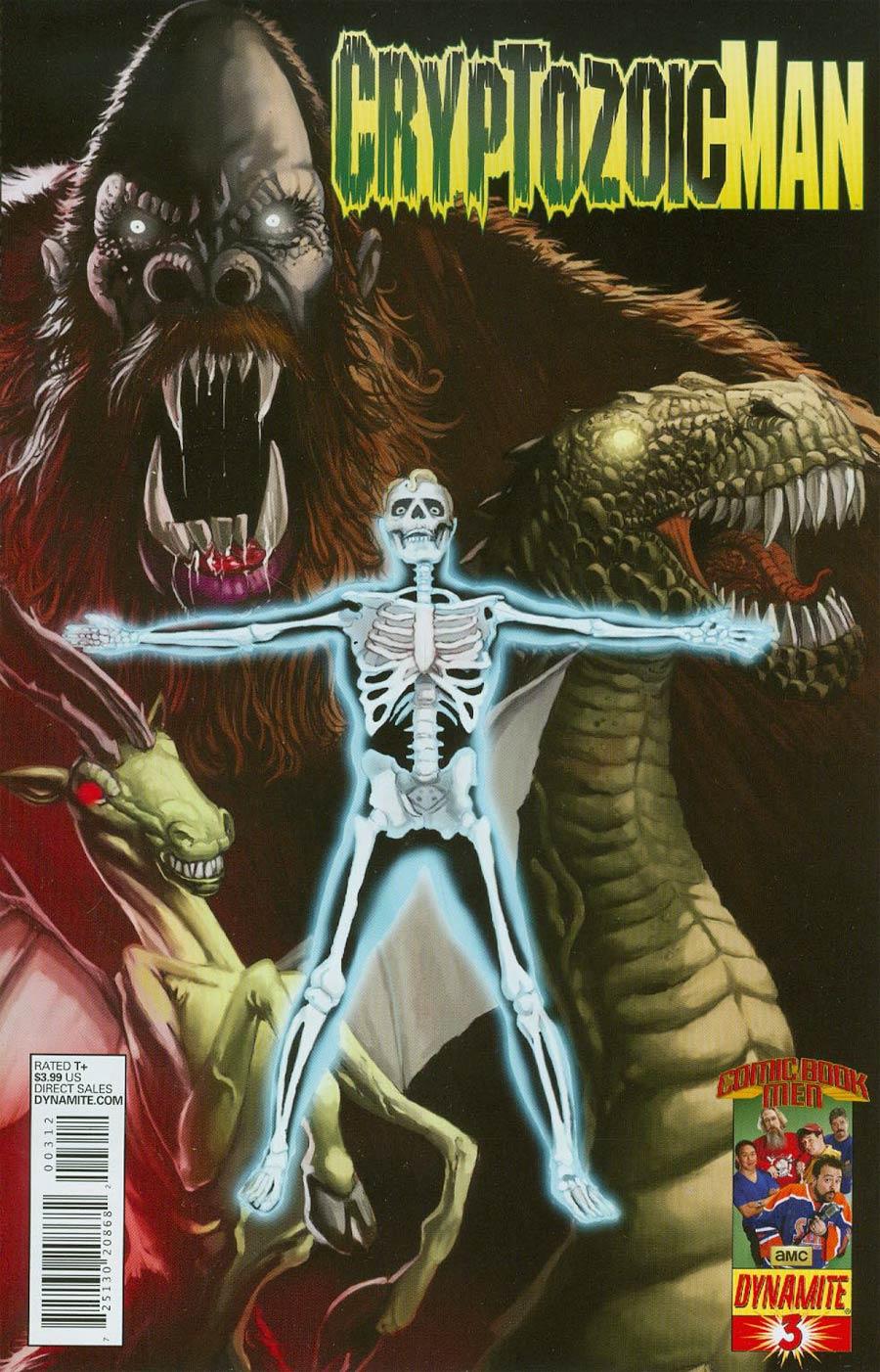Cryptozoic Man #3 Cover C 2nd Ptg Walter Flanagan Variant Cover