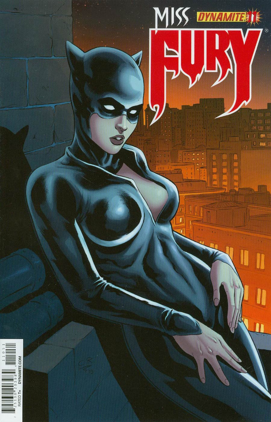 Miss Fury Vol 2 #11 Cover E Incentive Carlos Rafael Risque Variant Cover