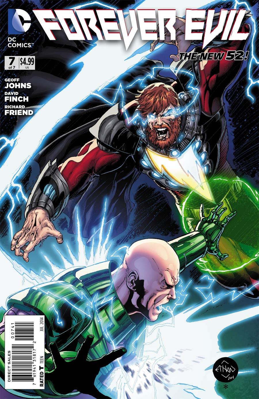 Forever Evil #7 Cover F Incentive Ethan Van Sciver Lex Luthor & Alexander Luthor Variant Cover