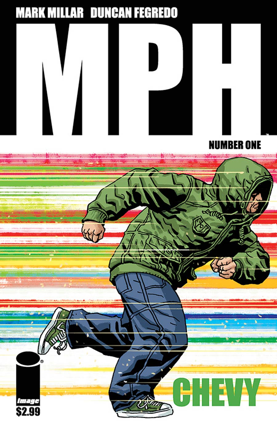 MPH #1 Cover F Variant Duncan Fegredo Team Member Chevy Cover