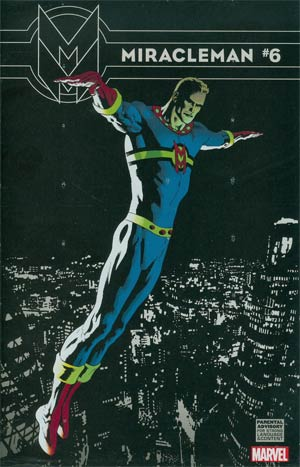 Miracleman (Marvel) #6 Cover B Incentive Kevin Nowlan Variant Cover With Polybag