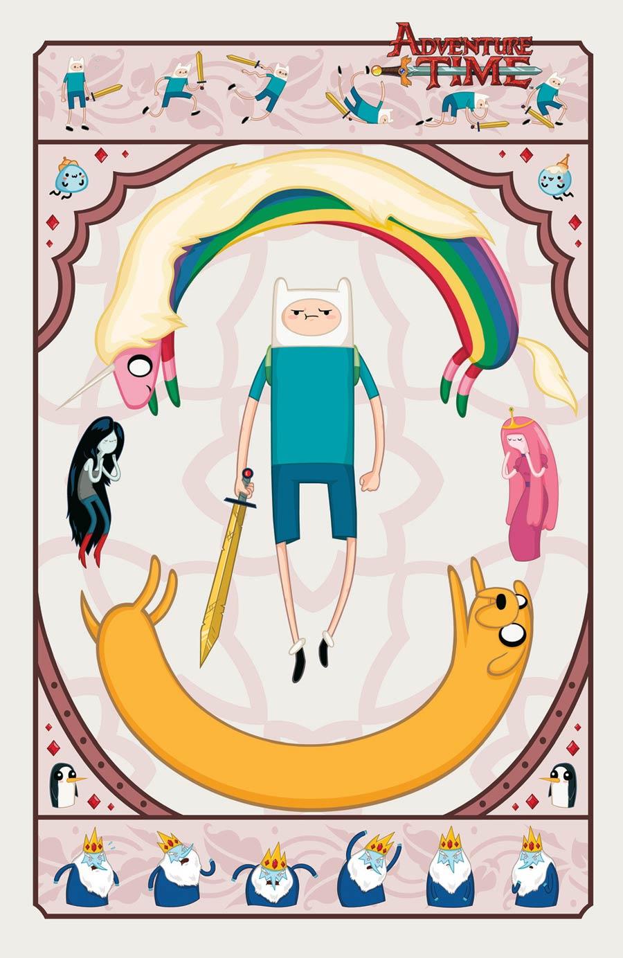 Adventure Time #28 Cover D Incentive Zan Czyzewski Virgin Variant Cover