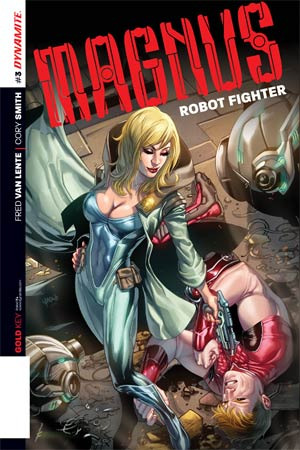 Magnus Robot Fighter Vol 4 #3 Cover C Incentive Emanuela Lupacchino Variant Cover