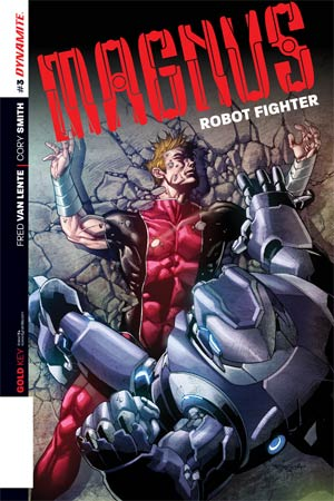 Magnus Robot Fighter Vol 4 #3 Cover D Incentive Stephen Segovia Variant Cover