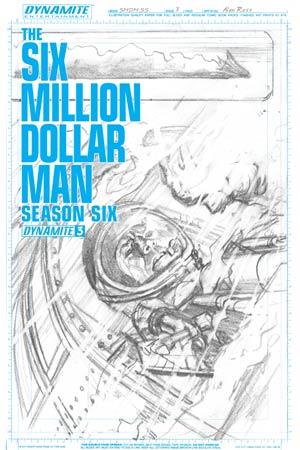 Six Million Dollar Man Season 6 #3 Cover D Incentive Alex Ross Art Board Cover
