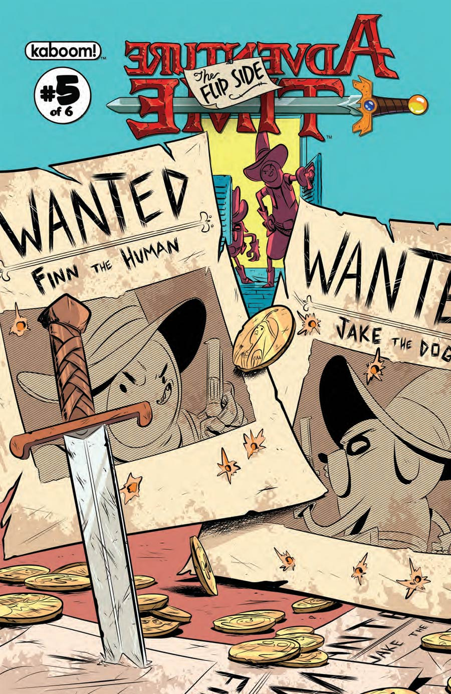 Adventure Time Flip Side #5 Cover A Regular Wook Jin Clark Cover