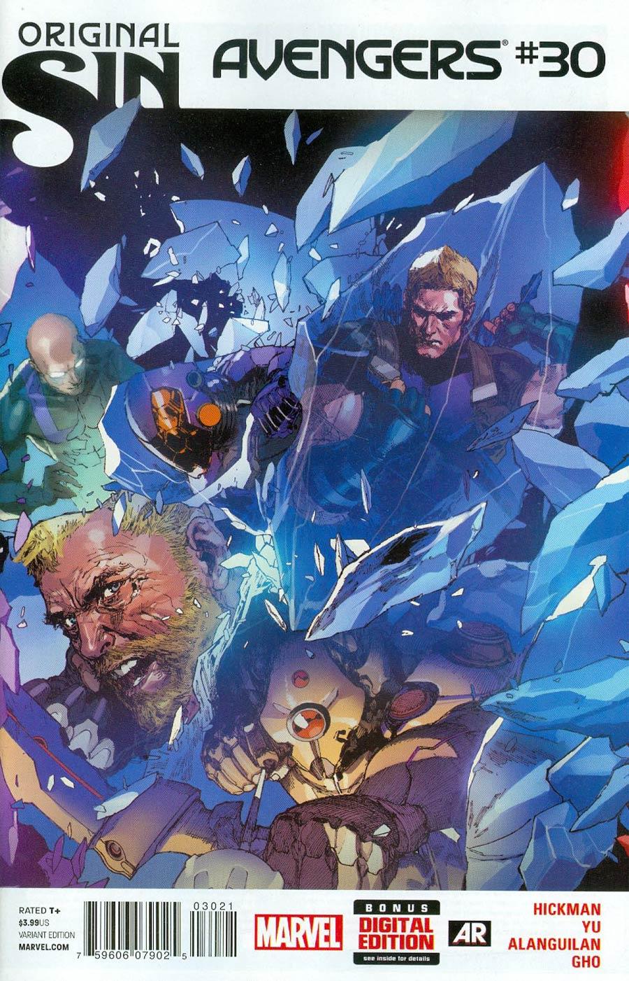 Avengers Vol 5 #30 Cover B Variant Leinil Francis Yu Cover (Original Sin Tie-In)