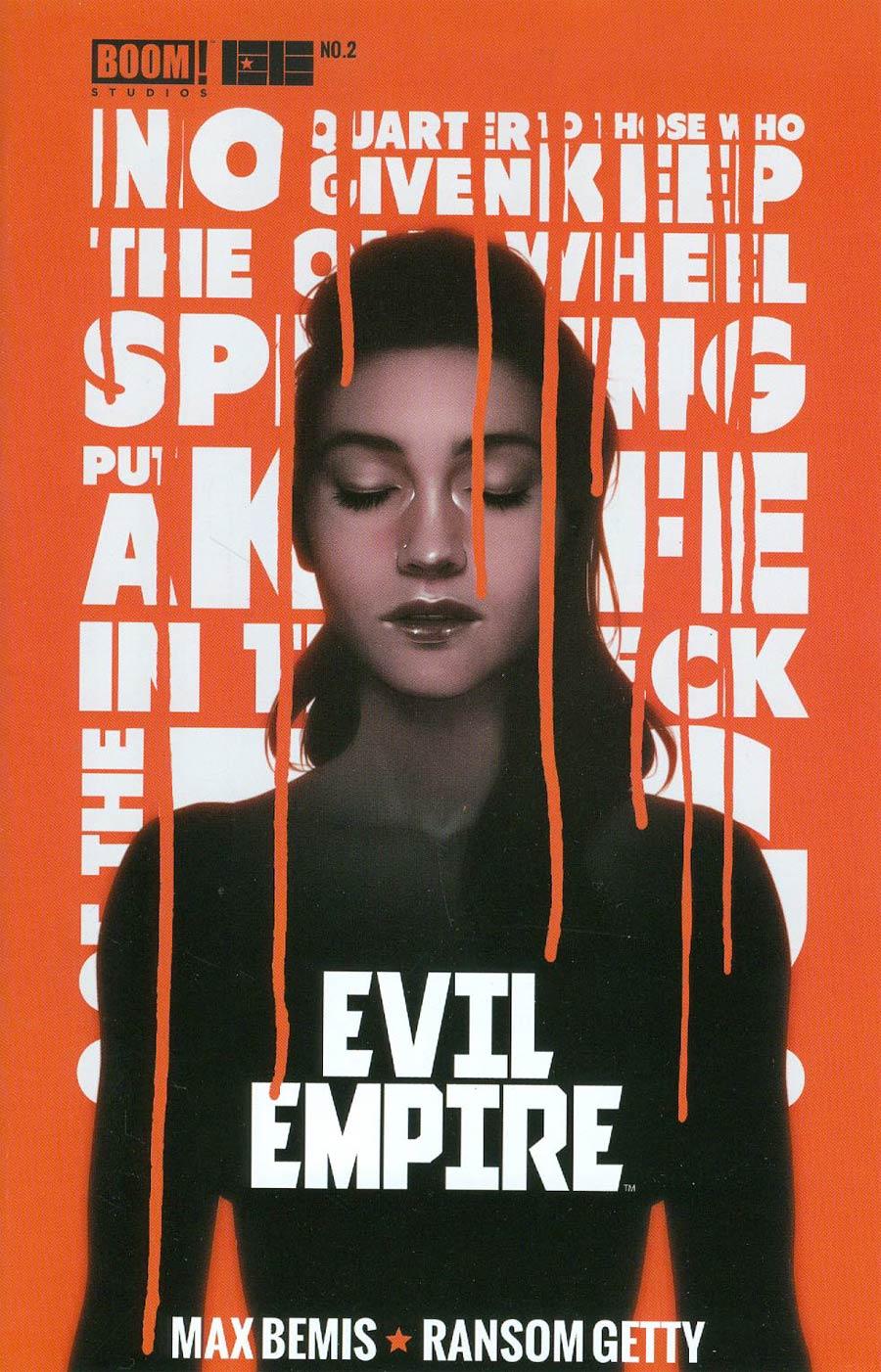Evil Empire #2 Cover B 2nd Ptg Andre De Variant Cover