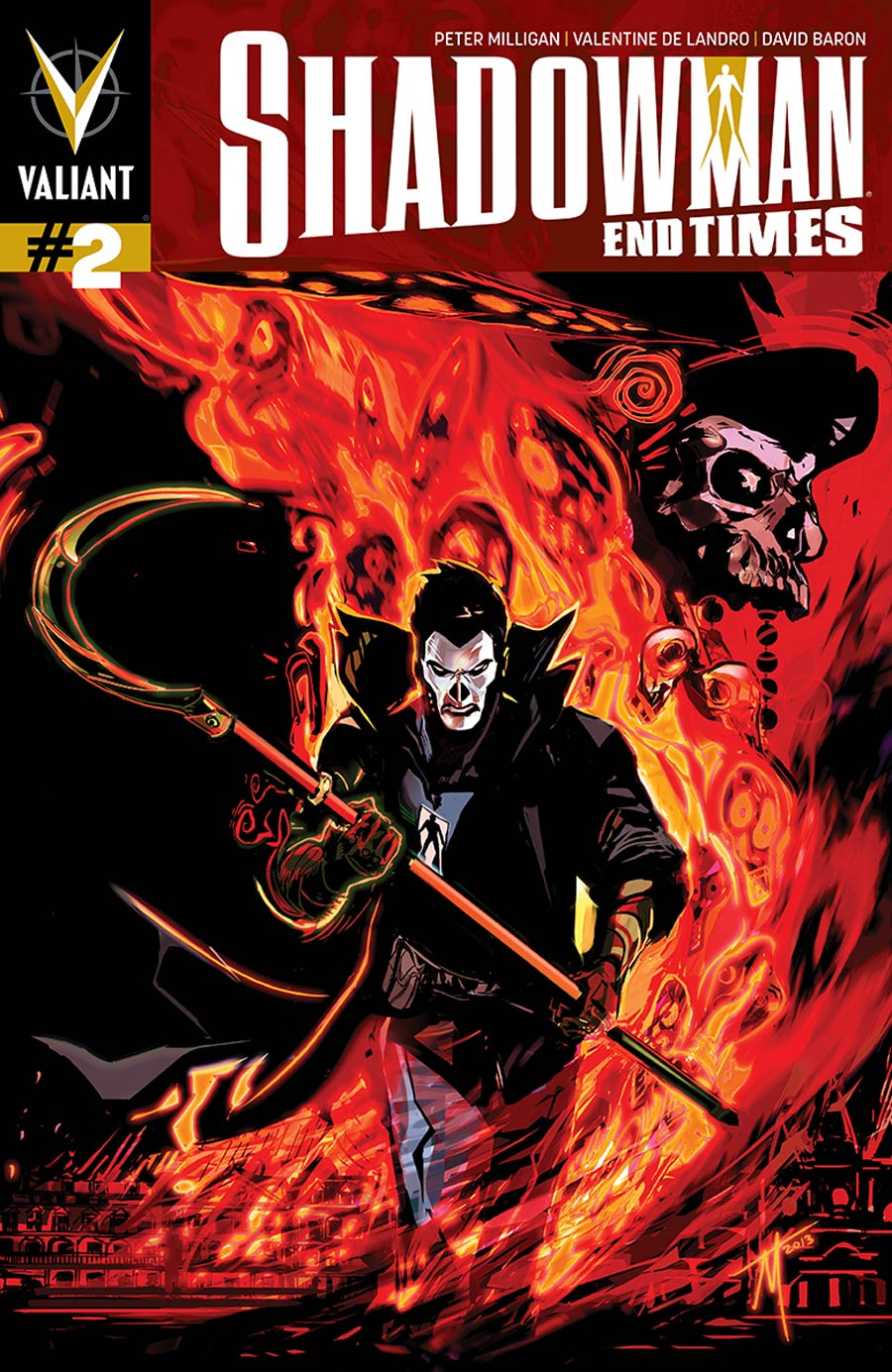 Shadowman End Times #2 Cover B Incentive Trevor McCarthy Variant Cover