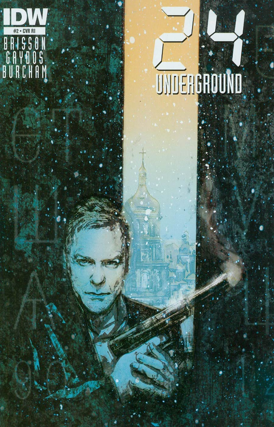 24 Underground #2 Cover C Incentive Michael Gaydos Variant Cover