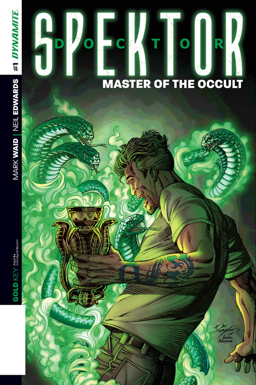 Doctor Spektor Master Of The Occult #1 Cover E Variant Bob Layton Reorder Variant Cover