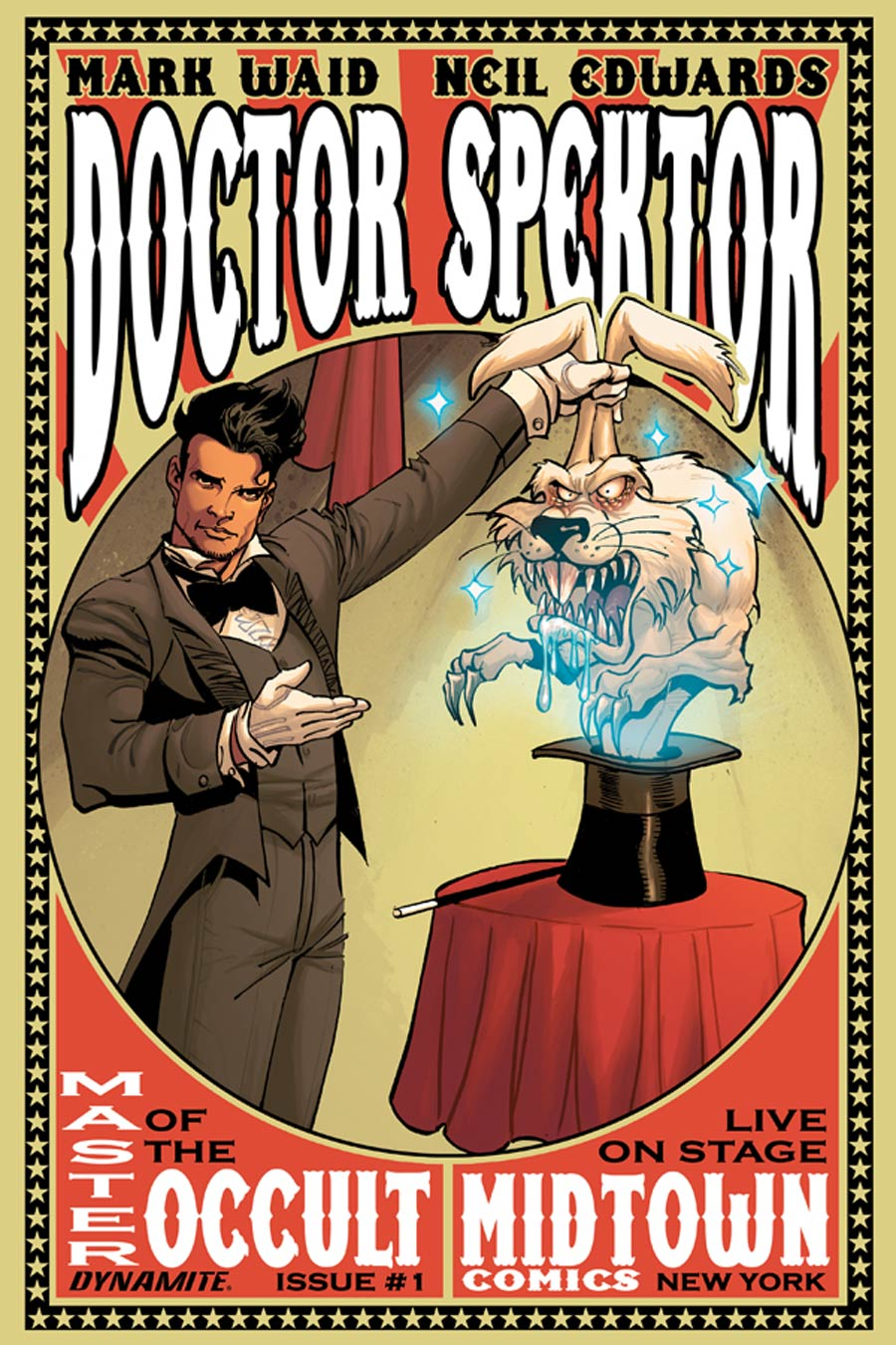 Doctor Spektor Master Of The Occult #1 Cover D Variant Midtown Comics Retailer Shared Exclusive Cover