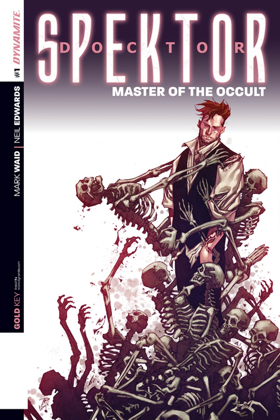 Doctor Spektor Master Of The Occult #1 Cover H Incentive Phil Hester Variant Cover