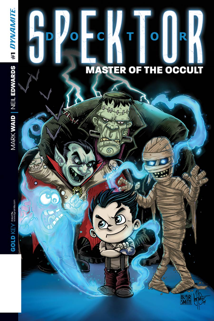 Doctor Spektor Master Of The Occult #1 Cover K Incentive Ken Haeser Lil Spektor Master Of The Occult Variant Cover