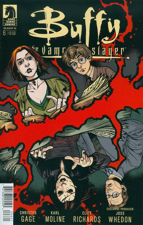 Buffy The Vampire Slayer Season 10 #6 Cover B Variant Rebekah Isaacs Cover