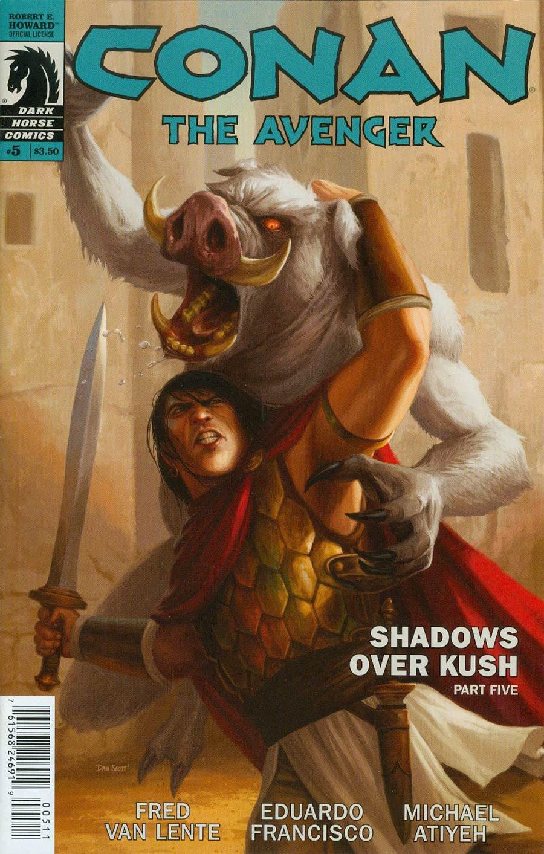 Conan The Avenger #5
