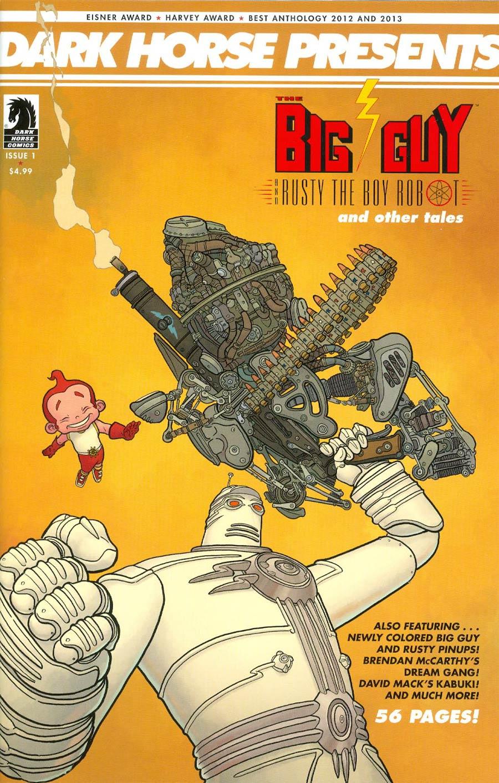 Dark Horse Presents Vol 3 #1 Cover A Regular Geof Darrow Cover