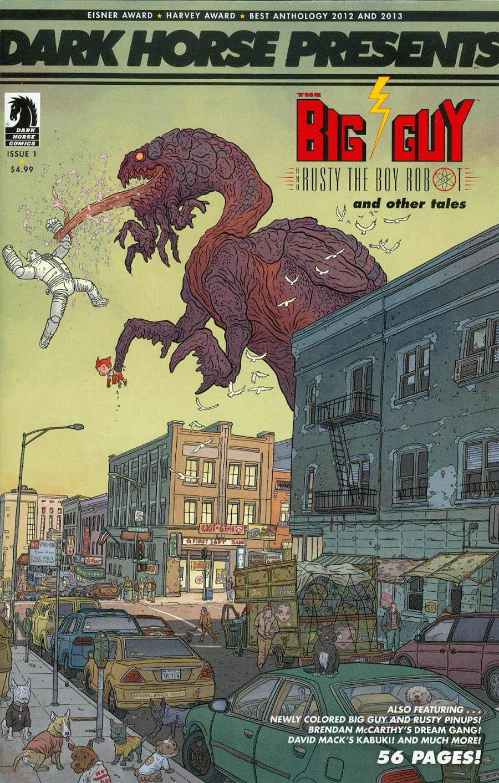 Dark Horse Presents Vol 3 #1 Cover B Variant Geof Darrow Cover