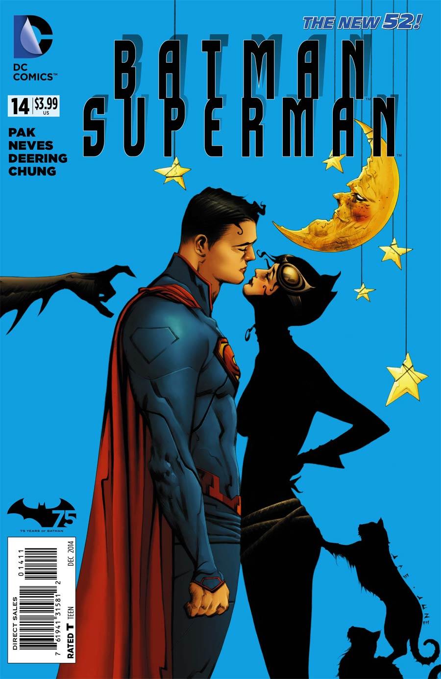 Batman Superman #14 Cover A Regular Jae Lee Cover