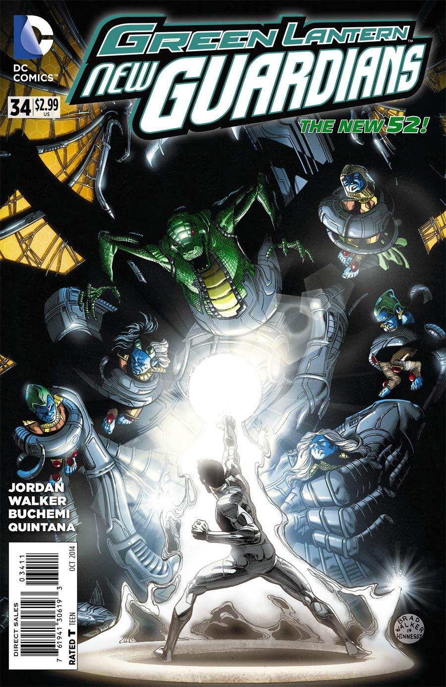 Green Lantern New Guardians #34