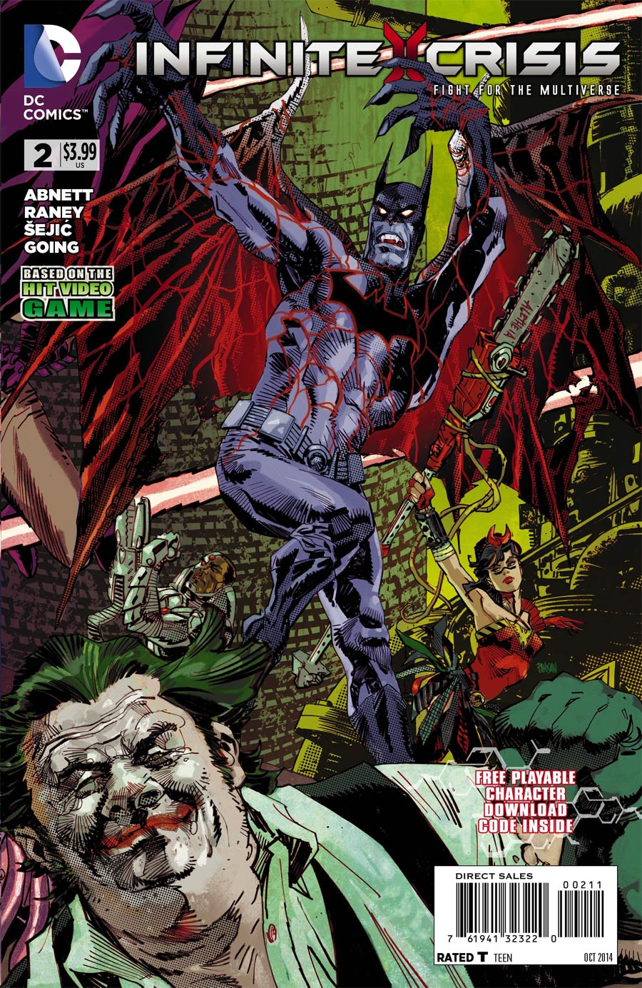 Infinite Crisis Fight For The Multiverse #2 Cover A With Polybag