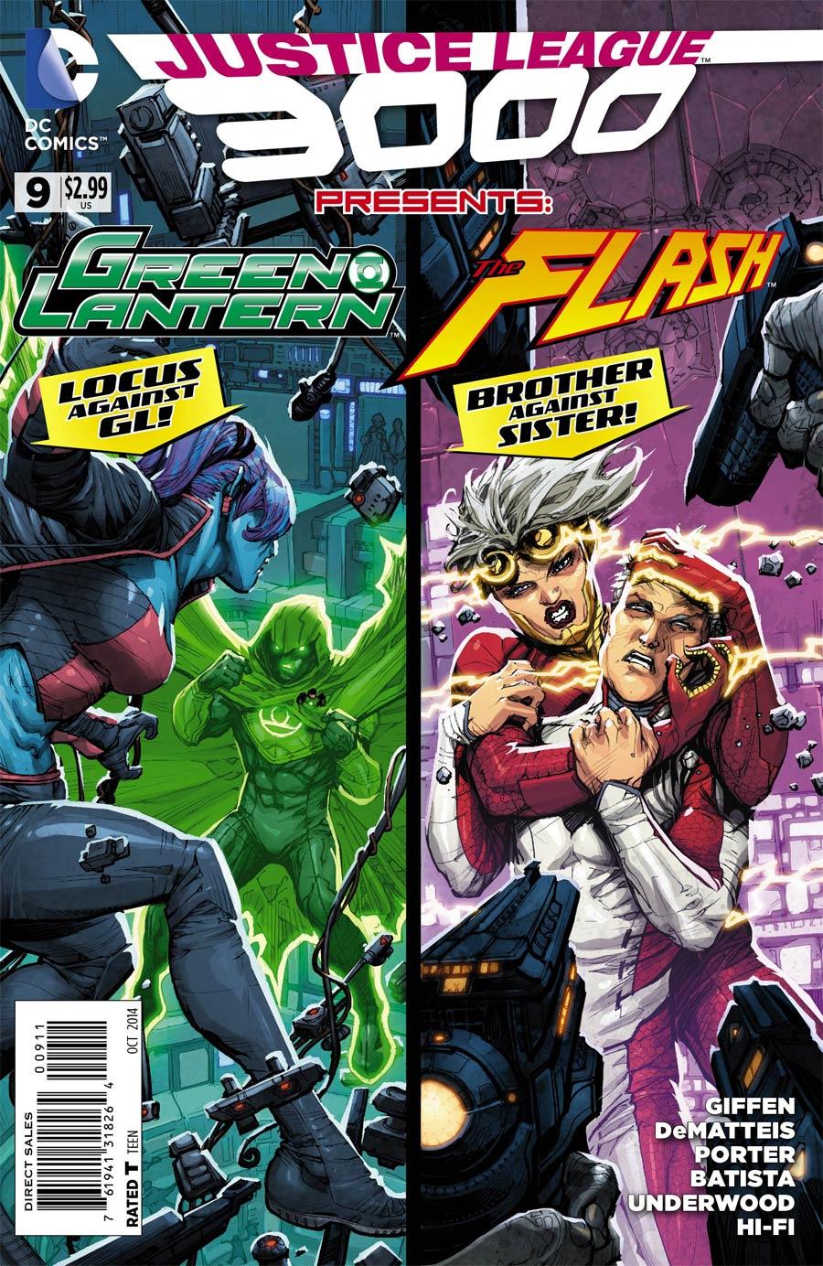 Justice League 3000 #9
