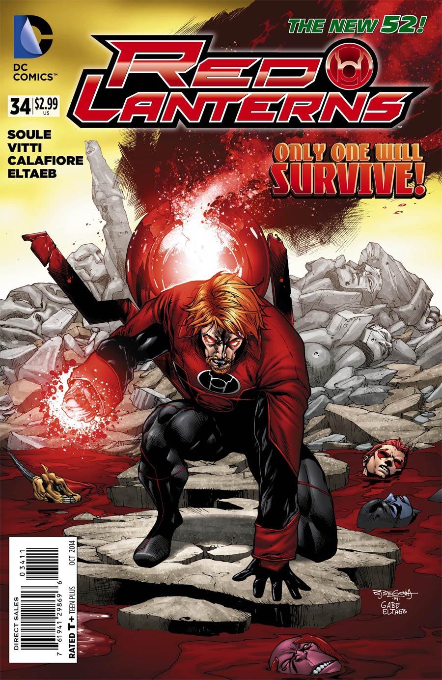 Red Lanterns #34