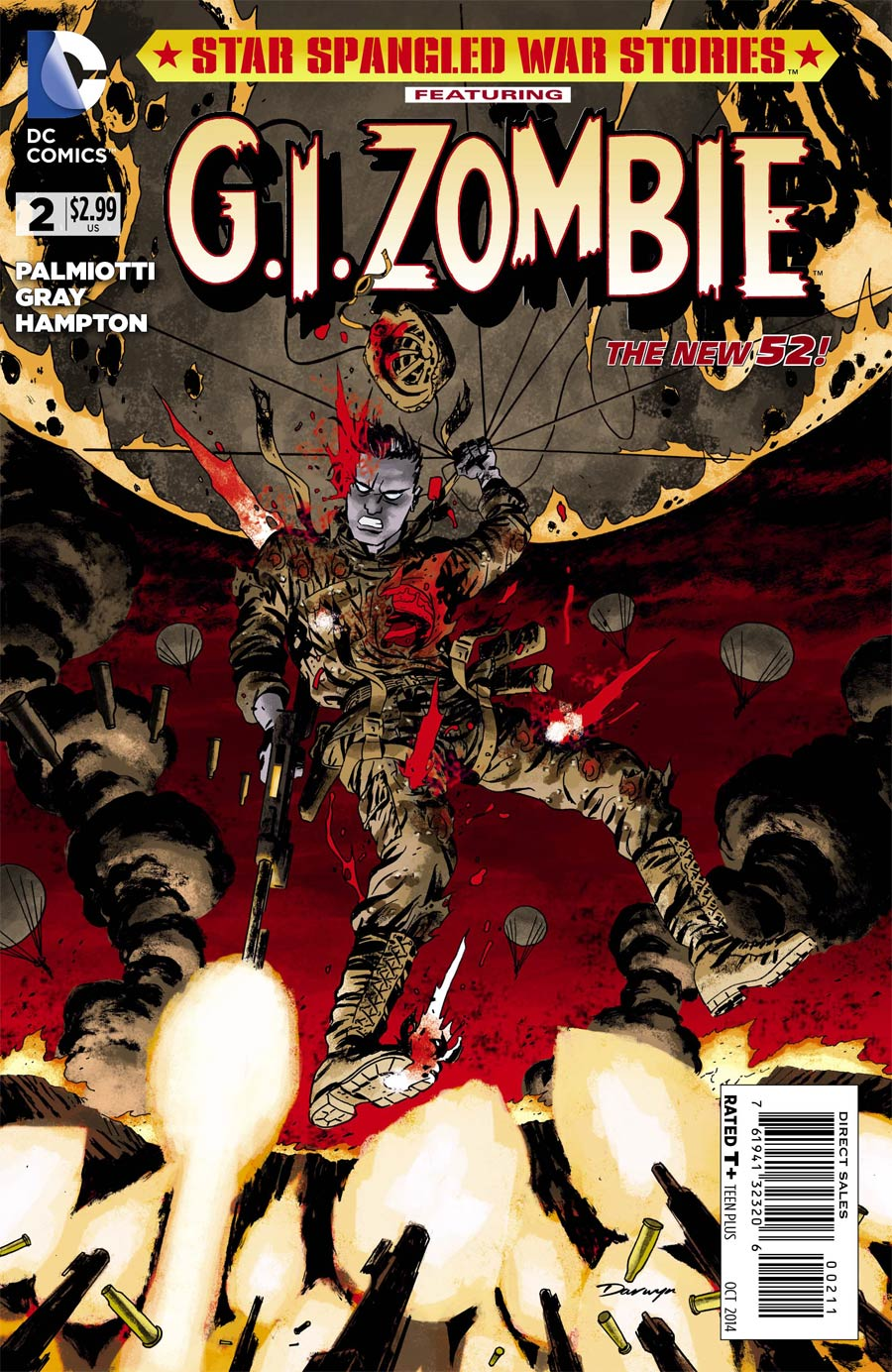 Star-Spangled War Stories Featuring GI Zombie #2 Cover A Regular Darwyn Cooke Cover