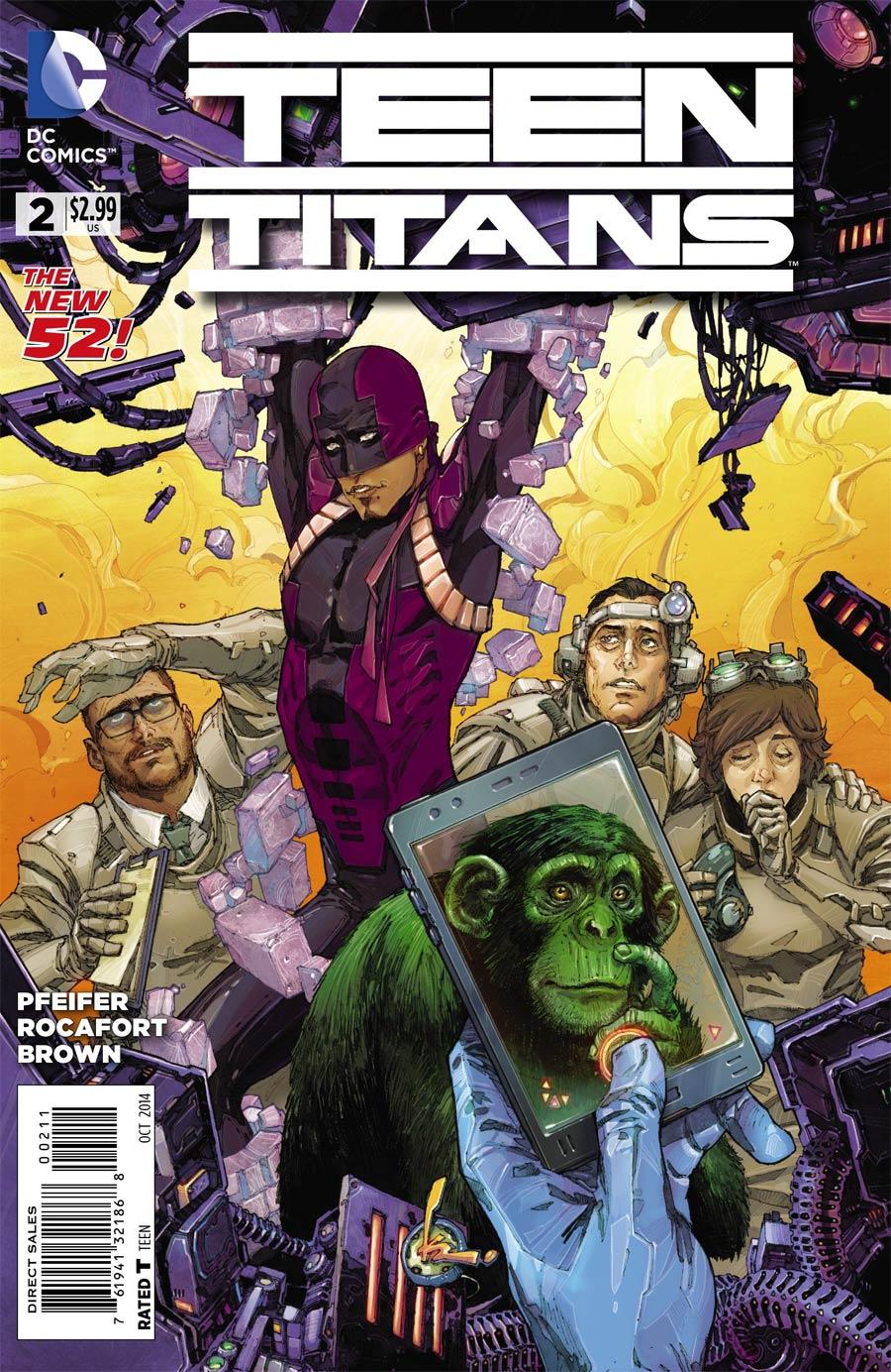 Teen Titans Vol 5 #2 Cover A Regular Kenneth Rocafort Cover