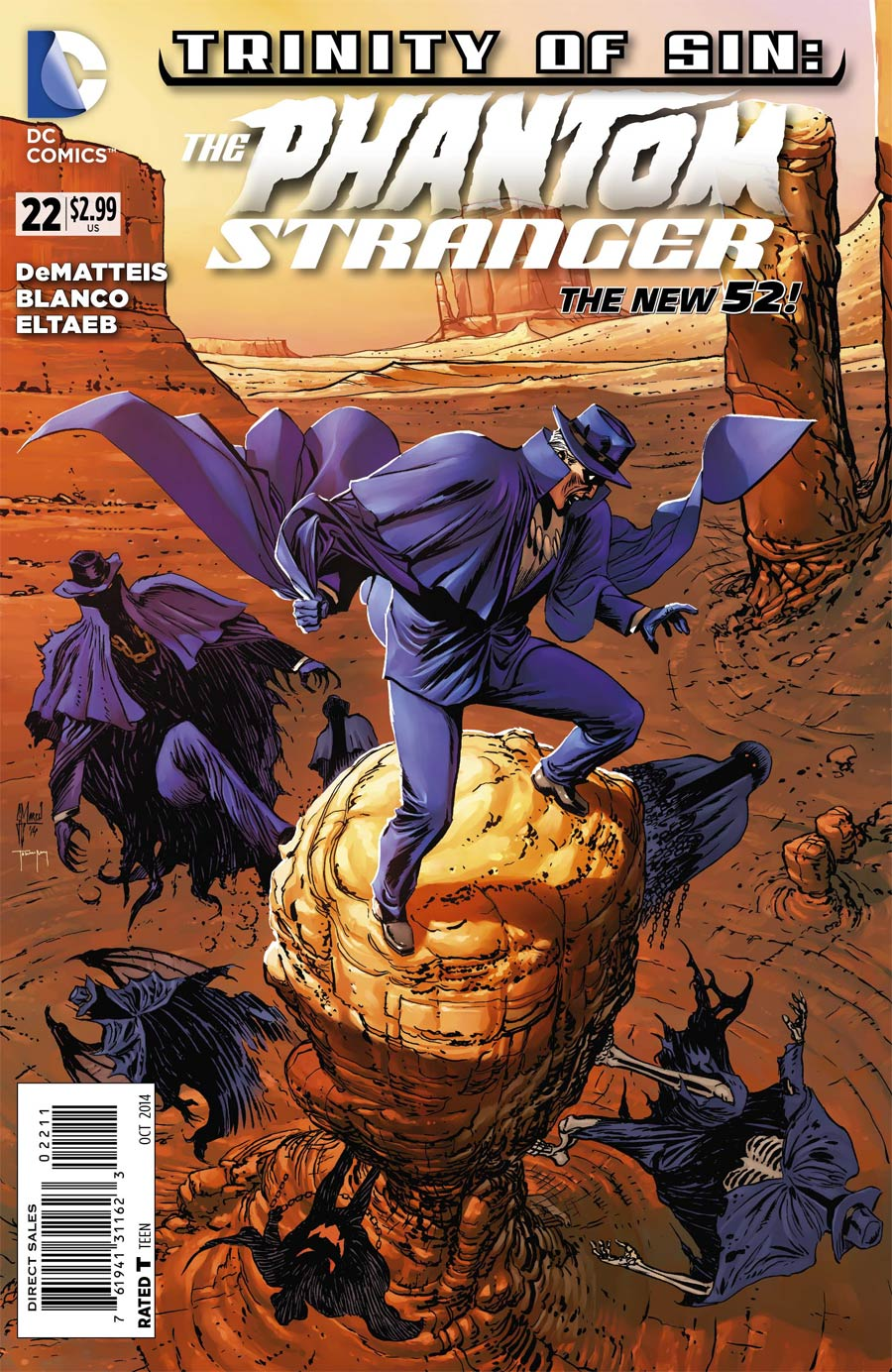 Trinity Of Sin Phantom Stranger #22