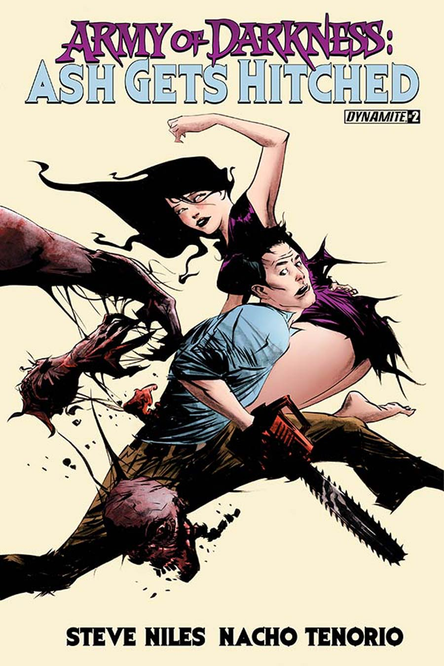 Army Of Darkness Ash Gets Hitched #2 Cover A Regular Jae Lee Cover