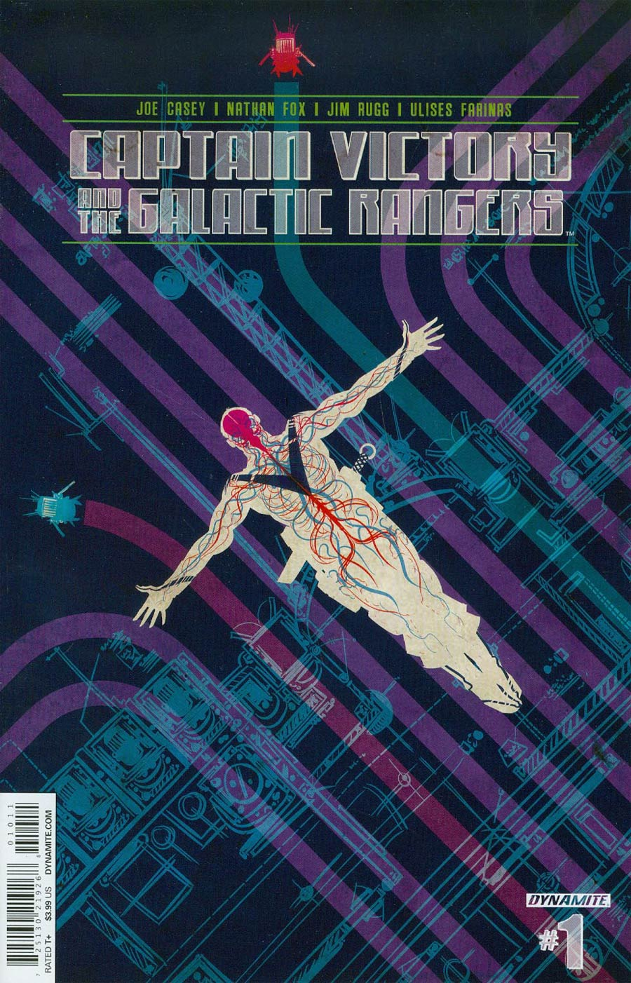 Captain Victory And The Galactic Rangers Vol 3 #1 Cover A Regular Nathan Fox Cover