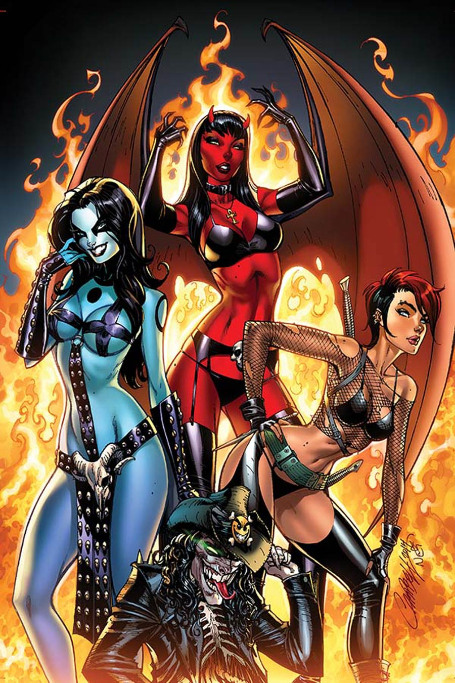 Chaos #1 Cover O High-End J Scott Campbell Virgin Ultra-Limited Cover