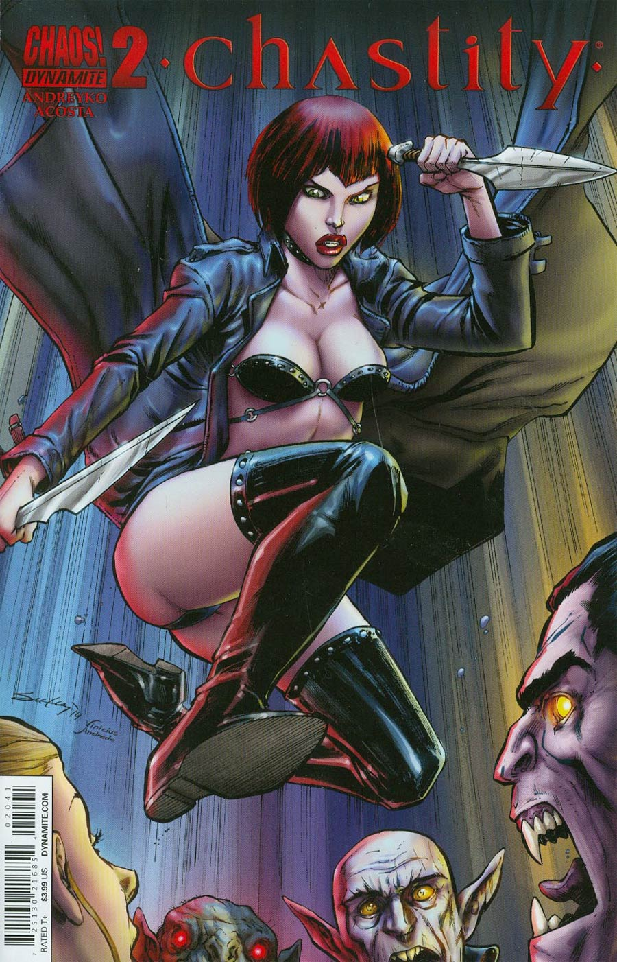 Chastity #2 Cover B Variant Tim Seeley Subscription Cover