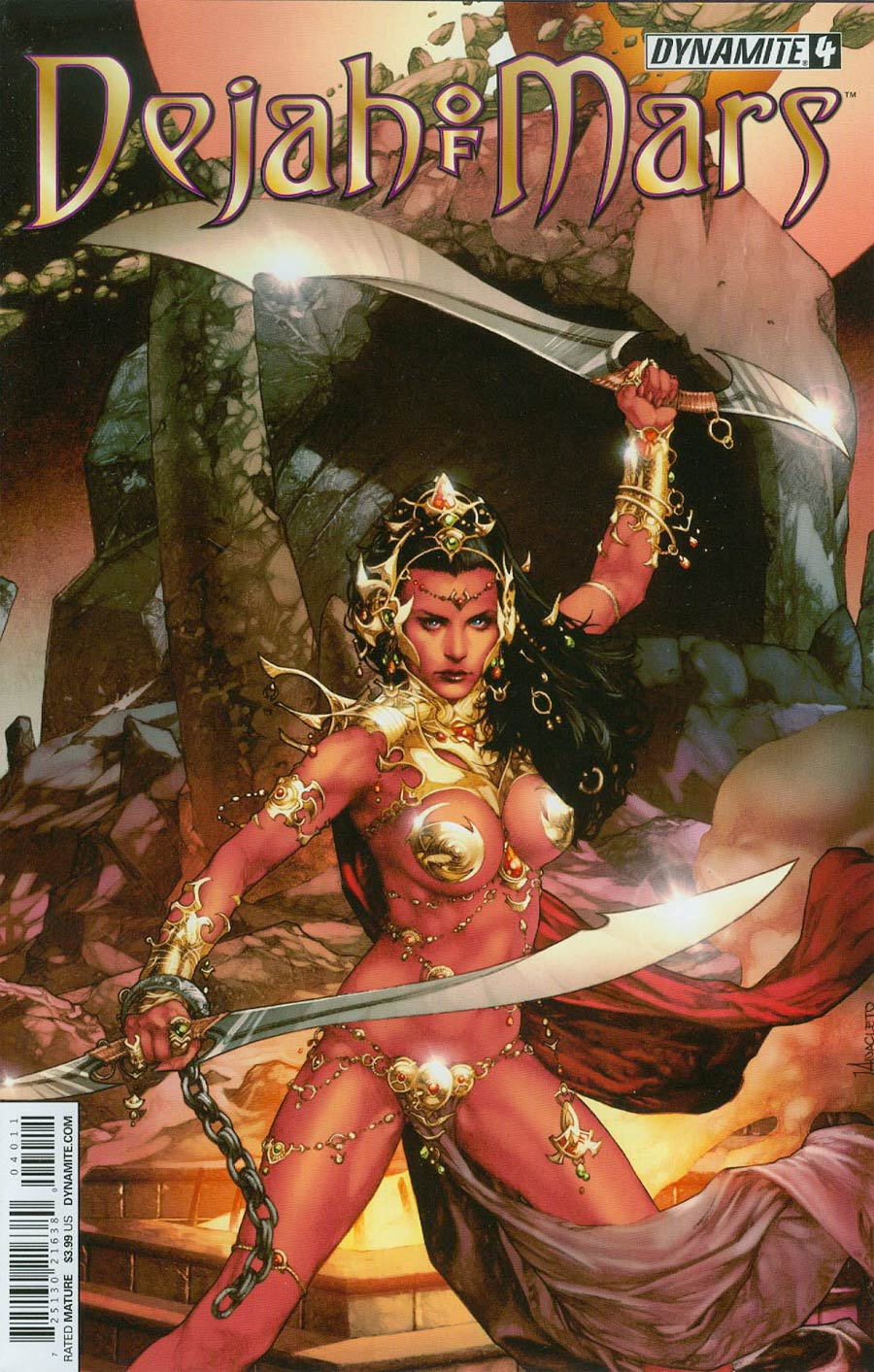 Dejah Of Mars #4 Cover A Regular Jay Anacleto Cover