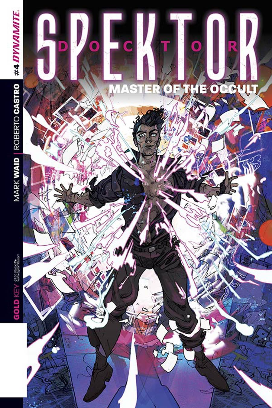 Doctor Spektor Master Of The Occult #4 Cover A Regular Christian Ward Cover