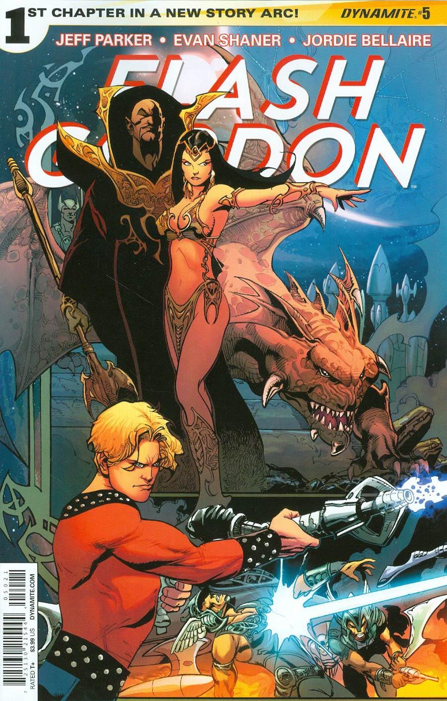 Flash Gordon Vol 7 #5 Cover C Variant Roberto Castro 80th Anniversary Cover