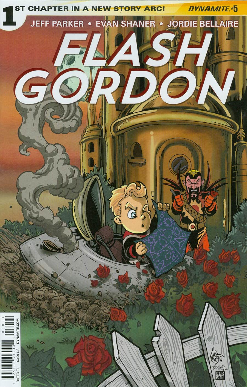 Flash Gordon Vol 7 #5 Cover B Variant Ken Haeser Lil Flash Subscription Cover
