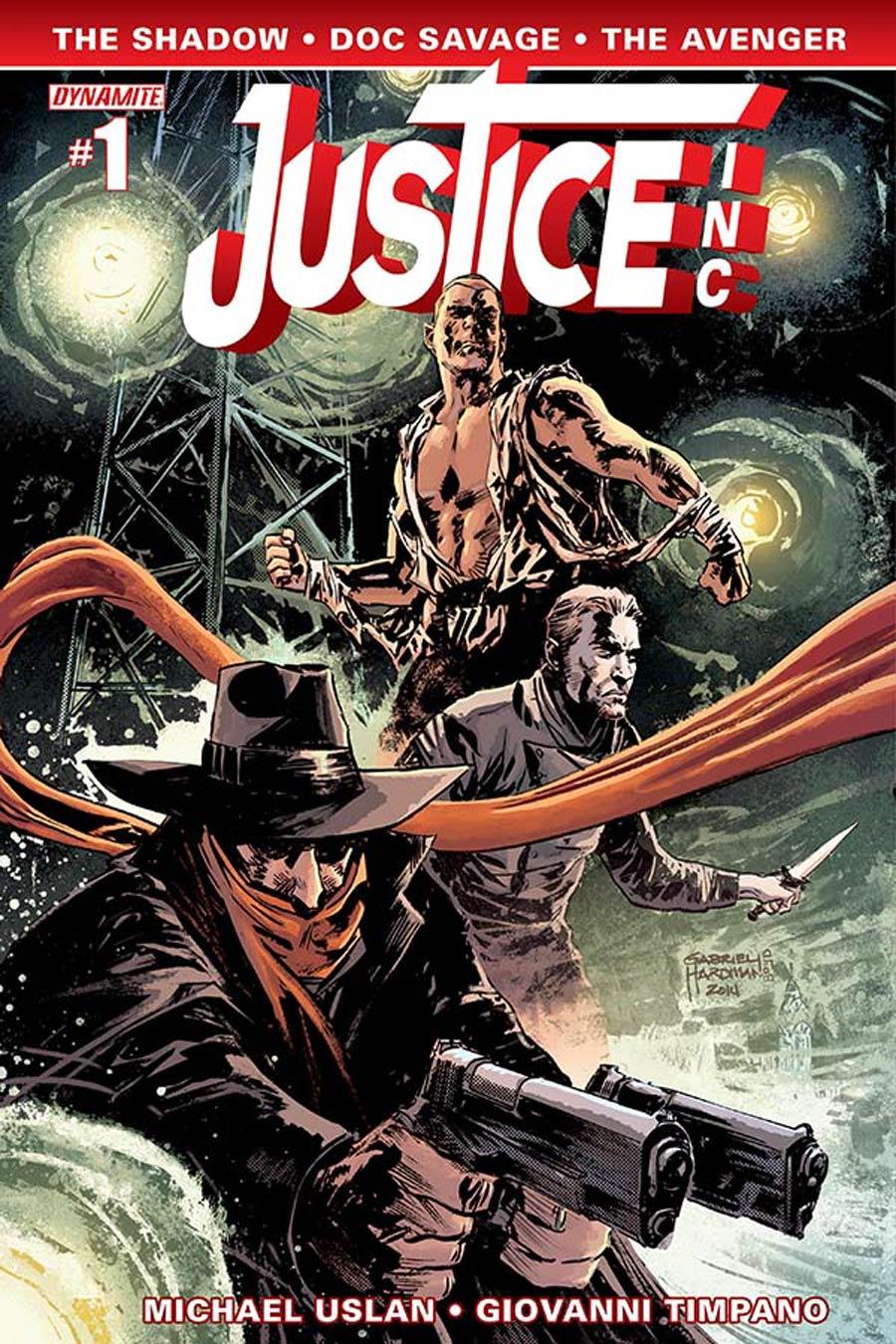Justice Inc Vol 3 #1 Cover C Variant Gabriel Hardman Cover