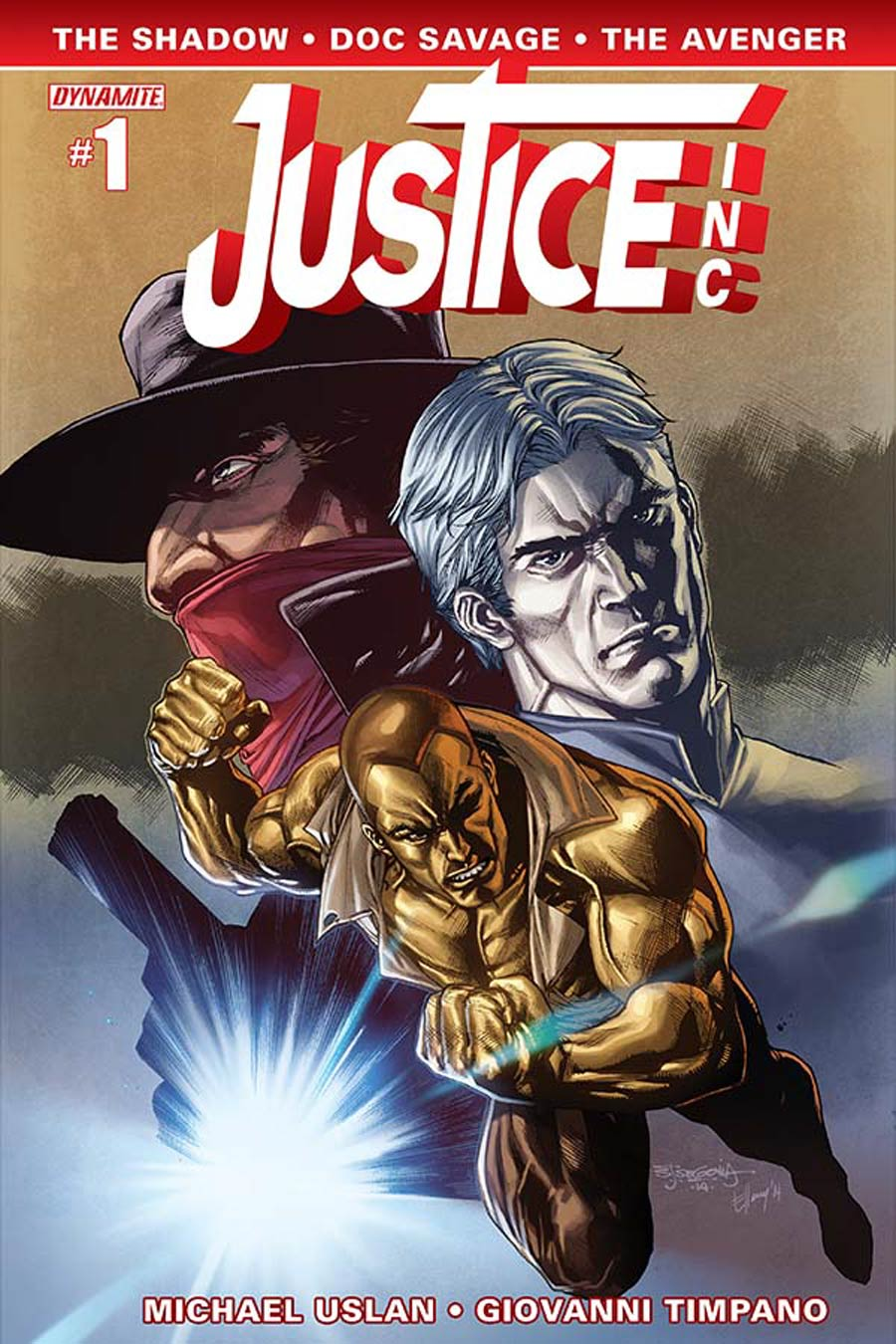 Justice Inc Vol 3 #1 Cover E Variant Stephen Segovia Cover