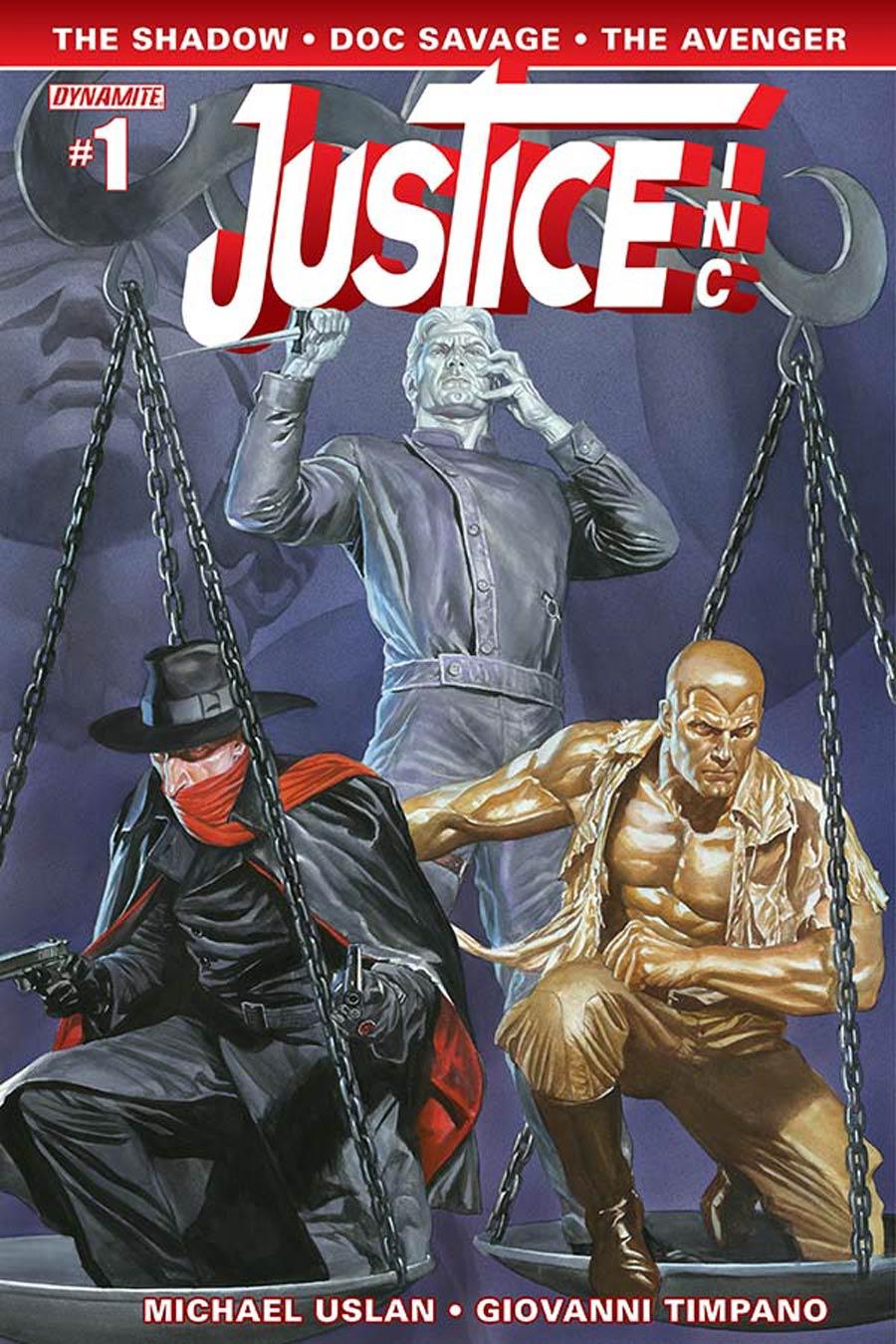Justice Inc Vol 3 #1 Cover A Regular Alex Ross Cover